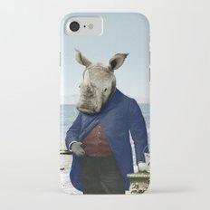 Mr. Rhino's Day at the Beach Slim Case iPhone 7
