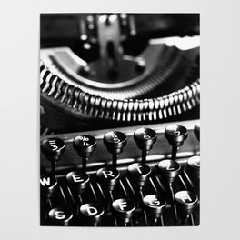 Typewriter No.5 Poster
