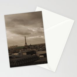 Rooftop view of Paris Stationery Cards