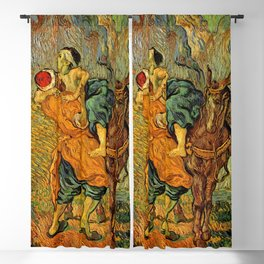 "Vincent Van Gogh ""The Good Samaritan"" Blackout Curtain"