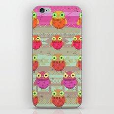 Winter owl iPhone & iPod Skin