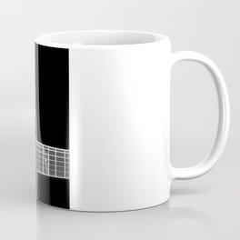 Guitar BW Coffee Mug