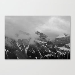Farther Slopes: III Canvas Print