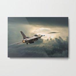 Falcon Soares Metal Print