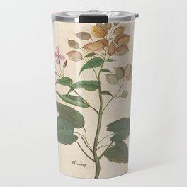 Honesty - botanical Travel Mug