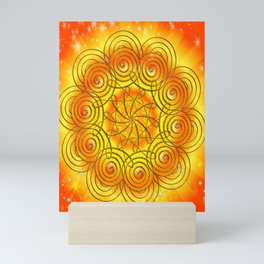 Mandala - Selbstachtung Mini Art Print