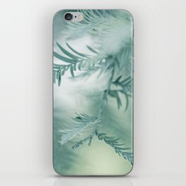 feathery leaves iPhone Skin