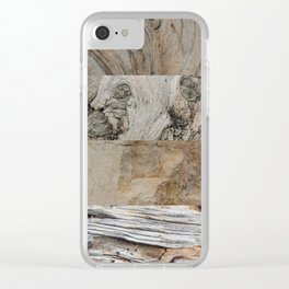 Texture Five Clear iPhone Case