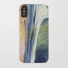 High Tide At Sunset Slim Case iPhone X