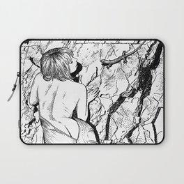 asc 347 - La fille mordue par un lézard (Girl bitten by a lizard) Laptop Sleeve