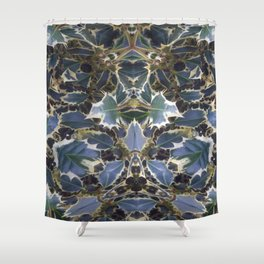 The Holly Wizard Shower Curtain