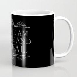 """I, myself, am strange and unusual."" -Lydia Deetz Coffee Mug"