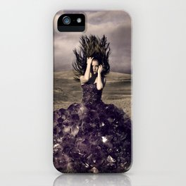 Attached to earth iPhone Case