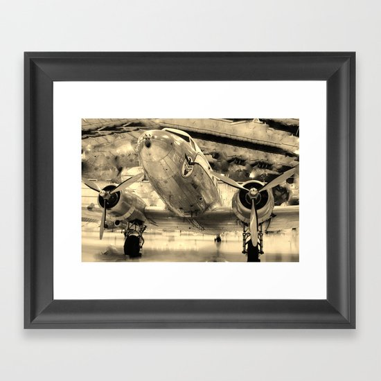 Galveston Air Museum Framed Art Print