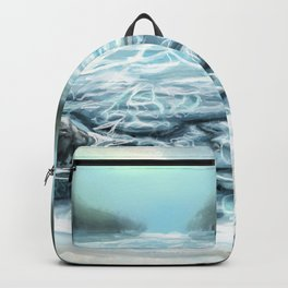 Clear Water in the Mountains Backpack