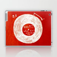 you are what you listen to, RED Laptop & iPad Skin