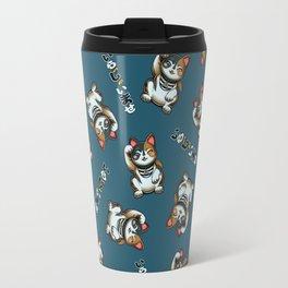 Maneki Neko Marron (Bare Version) Travel Mug