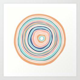 Rainbow (Infinite Loop) Art Print