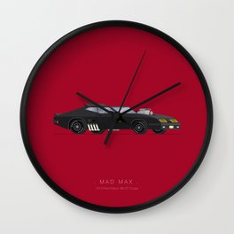 Mad Max   Famous Cars Wall Clock