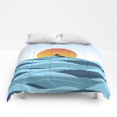 Surfing 1 Comforters