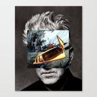 lynch Canvas Prints featuring david-lynch by Pato (aka, duck)