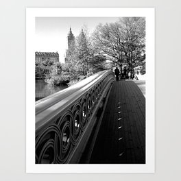Just walking... Art Print