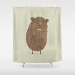 Grizzly Made an Effort Shower Curtain