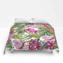Tropical Garden 3 Comforters