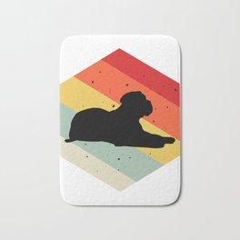 Bullmastiff design For Dog Lovers Cute Dog Bath Mat
