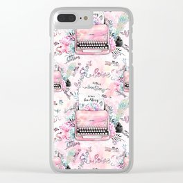 Love story Clear iPhone Case