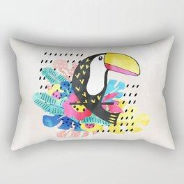 Tocan bird Rectangular Pillow