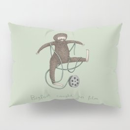 Bigfoot Caught on Film Pillow Sham
