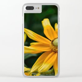Golden Yellow Clear iPhone Case