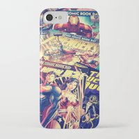 comics iPhone & iPod Cases featuring Comics by Miss-Lys
