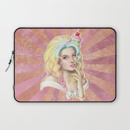 Cupcake Hat Laptop Sleeve
