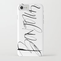 bonjour iPhone & iPod Cases featuring Bonjour! by Stephanie Fishwick