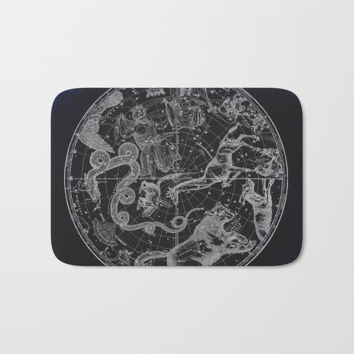 NY, Constellations Bath Mat