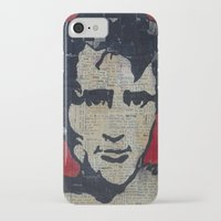kerouac iPhone & iPod Cases featuring Jack Kerouac: Get On The Beat  by Emily Storvold