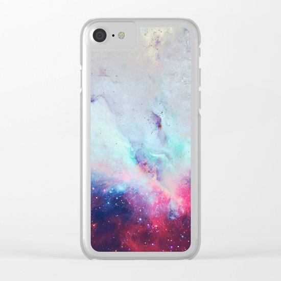 When the Universe Shine Clear iPhone Case