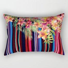 Florid Mexican Rectangular Pillow