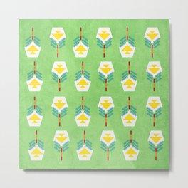 Tiptoe through the tulips with me Metal Print