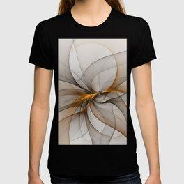 Elegant Chaos, Abstract Fractal Art T-shirt