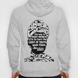 Ida B. Wells-Barnett - Black Lives Matter - Series - Black Voices Hoodie