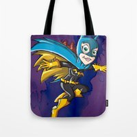 batgirl Tote Bags featuring Batgirl! by neicosta