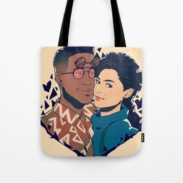 Dwanye and Whitley Tote Bag