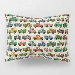 Cars and Trucks Pillow Sham