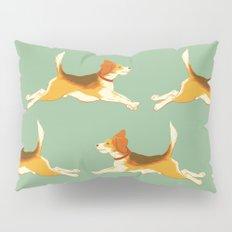 Beagle Pattern Pillow Sham