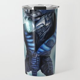 Caricature of Sub Zero Travel Mug