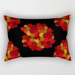 """Color Skein"" Rectangular Pillow"