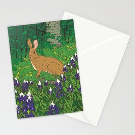 Rabbit & Lupin Stationery Cards